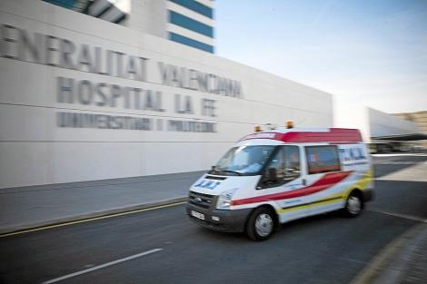 Ambulance à Valence