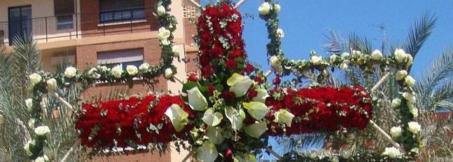 Croix de Mai à Valence en Espagne