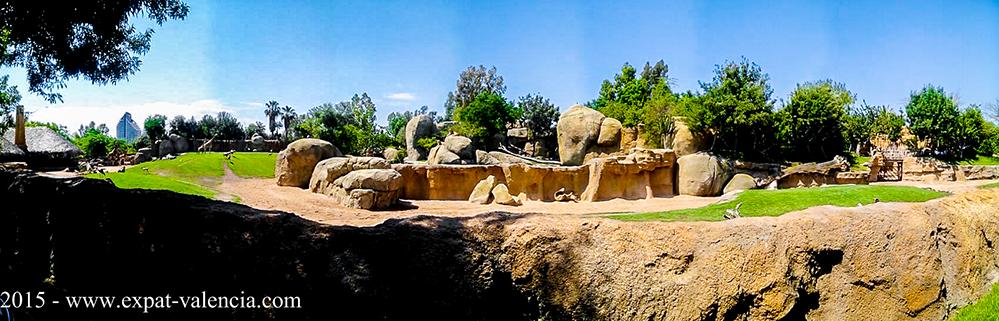 Panoramique du BioParc de Valence