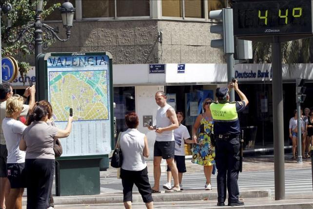 Un été à Valence : chaleur, humidité et vent