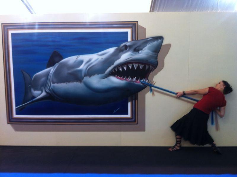 Exposition peintures 3D à Valencia