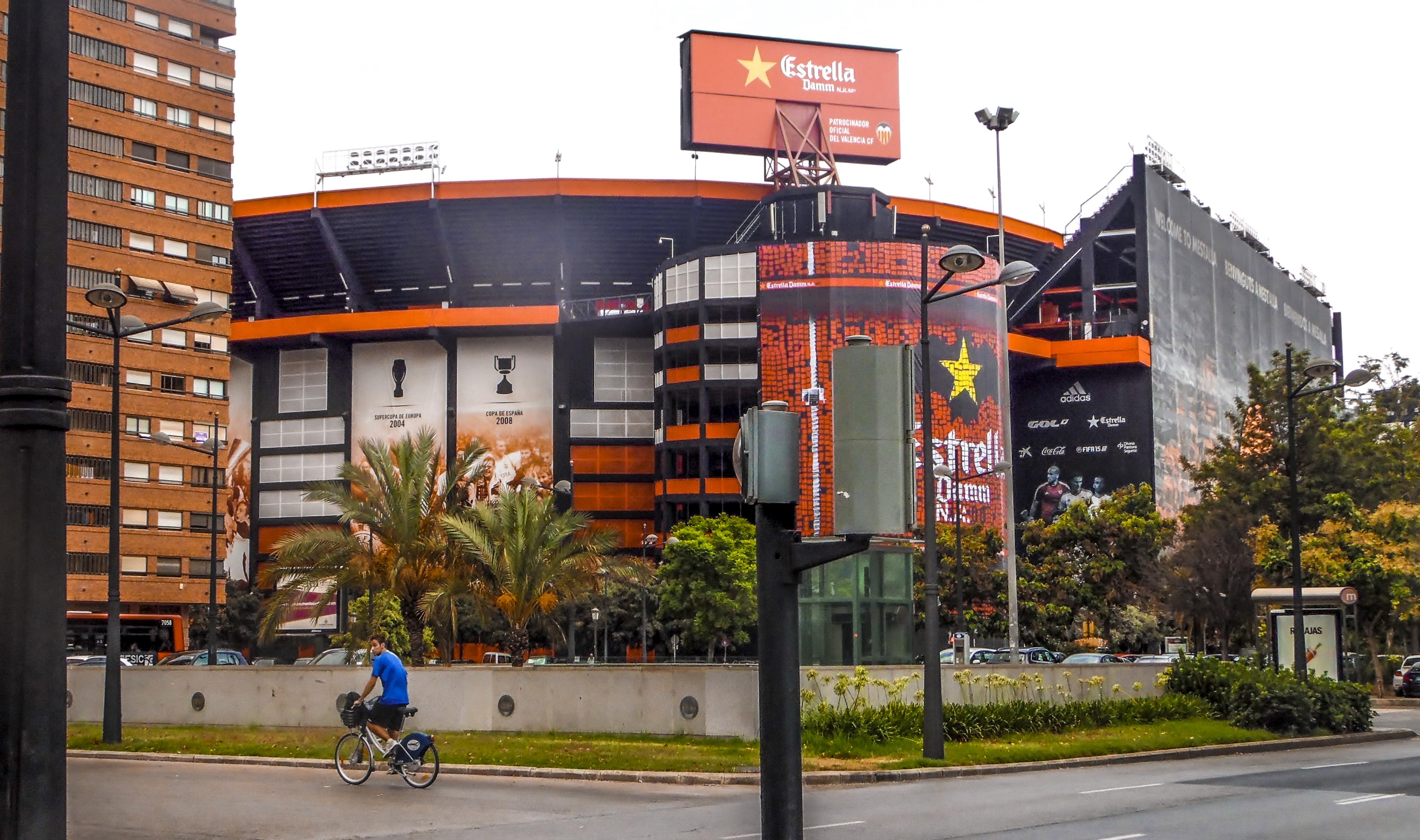 Stade Mestalla à Valencia