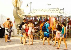 Le marché estival de Valence