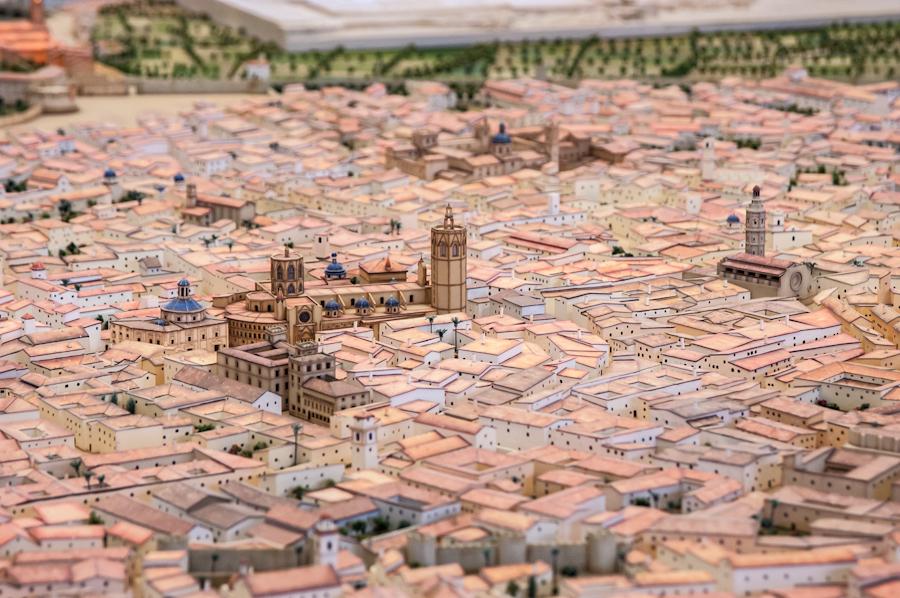 Maquette de Valencia