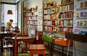 Les cafés-librairies à Valence
