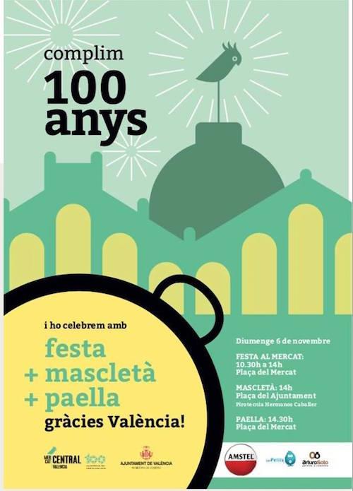 100 ans du Marché Central de Valencia