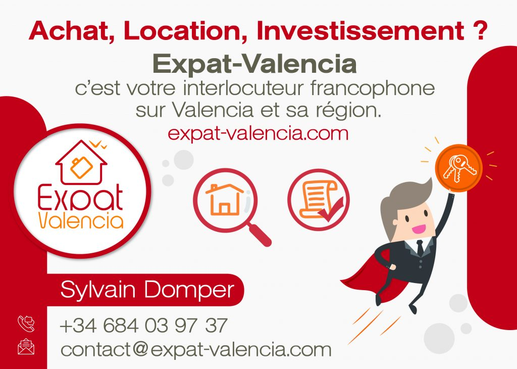 Chasseur immobilier Expat Valencia