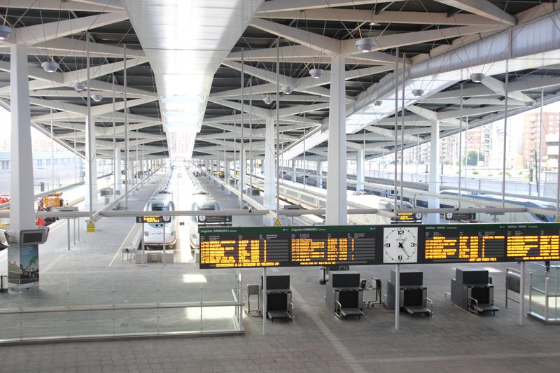 Gare AVE (TGV) Joaquin Sorolla