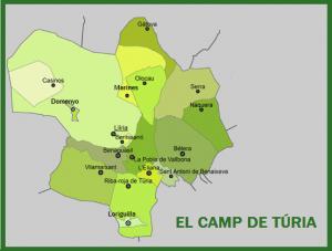 Carte du Camp de Turia