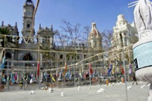 Mascleta Valence Espagne