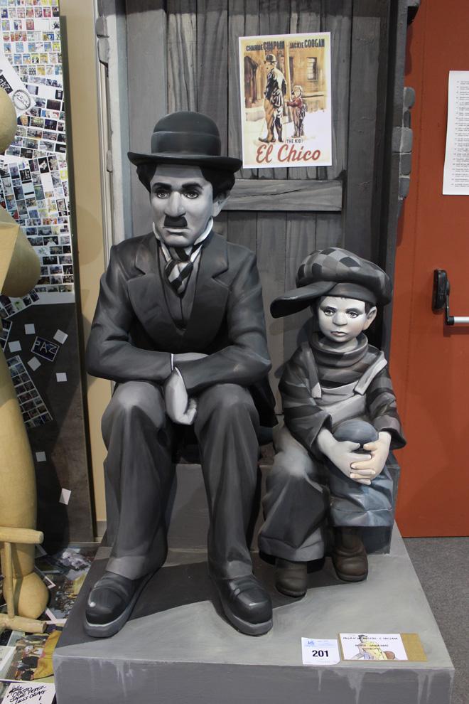 Charlot et le Kid, Ninot 2015