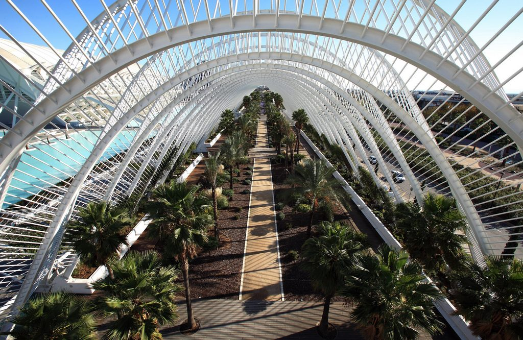 Umbracle en journée