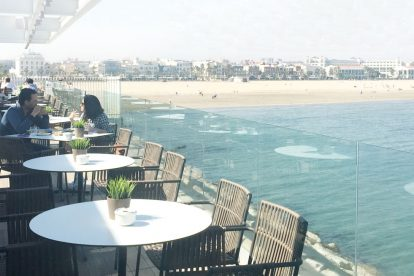 Le restaurant Panorama à Valence