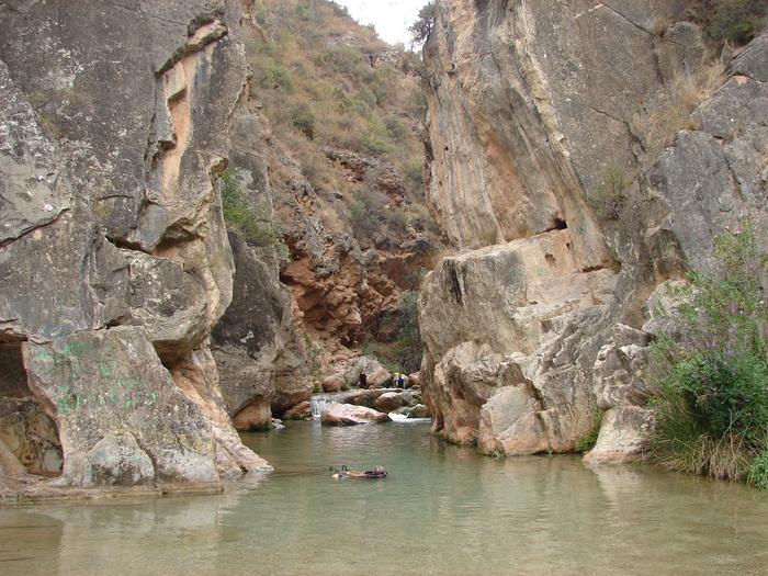 L'un des lacs de Chelva
