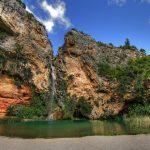 La cascade de la Cueva del Turche