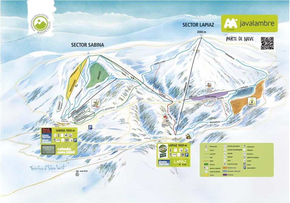 Ou skier à proximité de Valencia ?