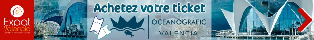 Achetez votre ticket pour l'Oceanographic de Valencia