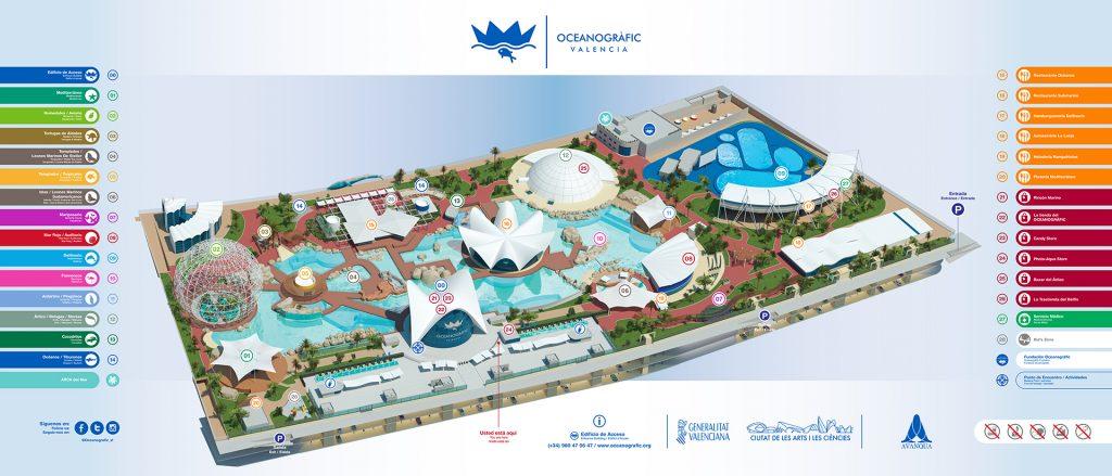 Découvrez les nouvelles installations de l'Oceanogràfic de Valence en Espagne.