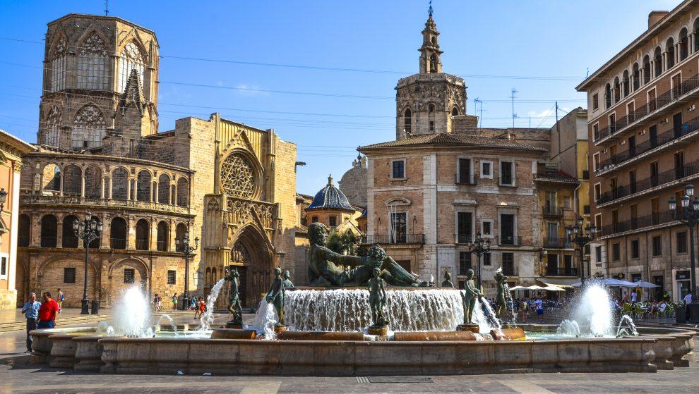 Plaza de la Reina Valence Espagne
