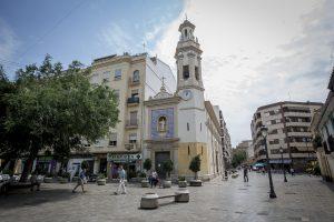 Place de Patraix à Valence (Espagne)