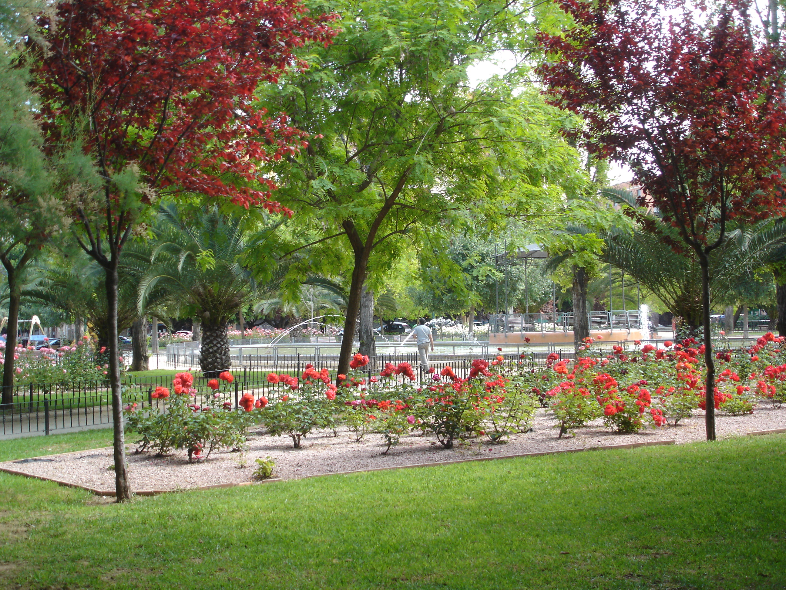Parc Enric Granados de Valence (Espagne)