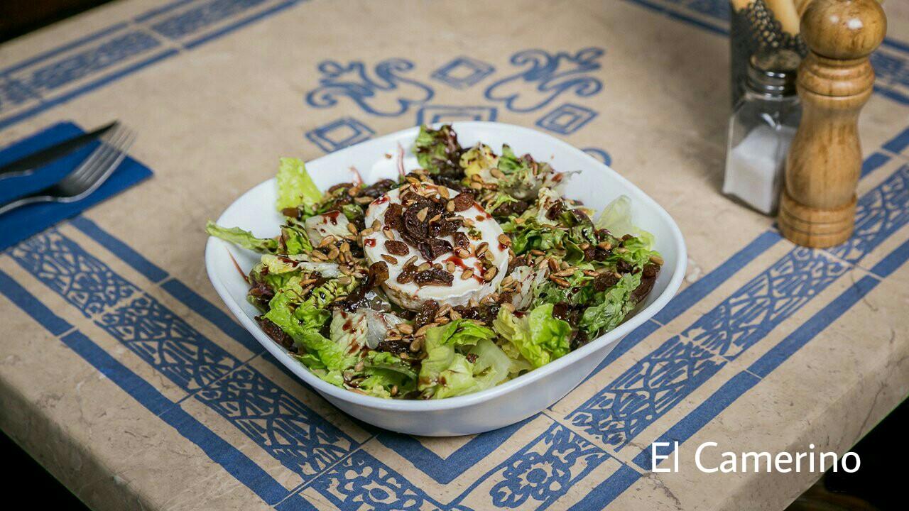 Salade proposée au Camerino Taberna