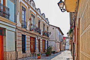 Rue de Benimaclet Valencia Espagne