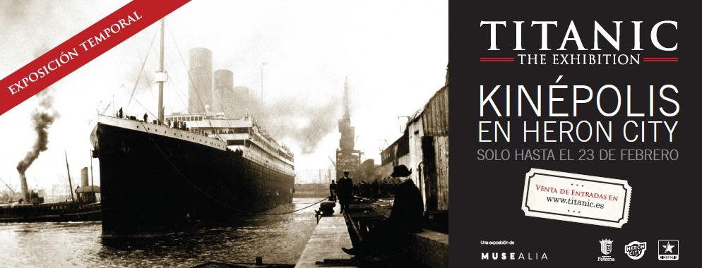Exposition Titanic Valencia
