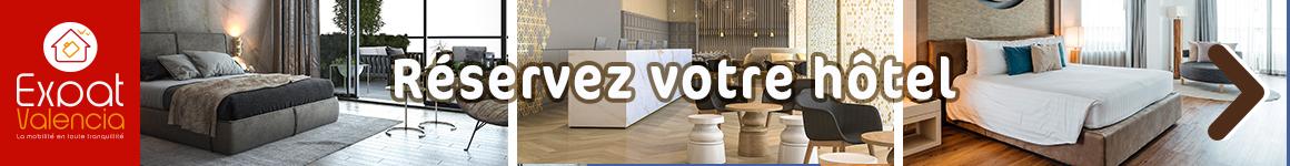 Réservez votre hôtel à Valencia